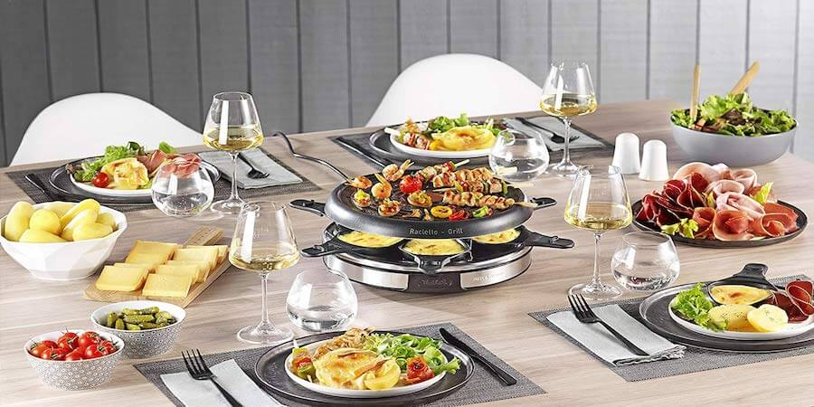 raclette grill tefal RE127812